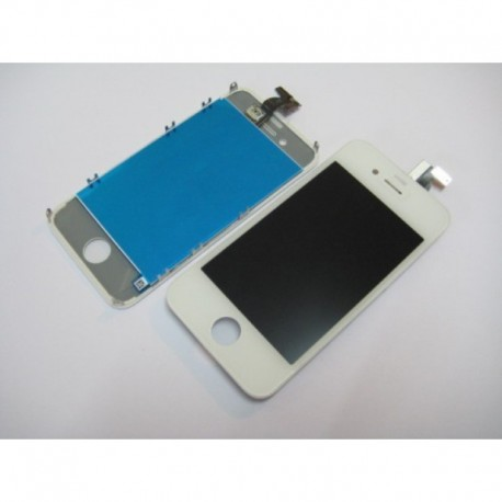 Display Lcd Hd Touch screen + vetro Iphone 4S Bianco